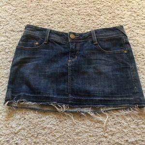 Bebe Charlotte mini skirt